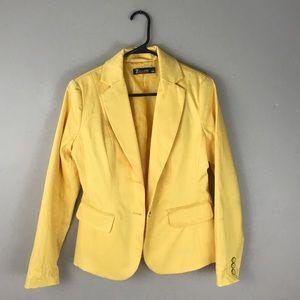 NY&C 4 Yellow marigold Career Blazer